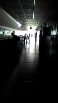 At the 4th Floor in the morning