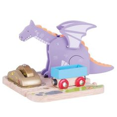 Buy Dragon Crane from our Cranes range at Bigjigs Rail. Award winning toys for every step of the way. Wooden Train, Wooden Jigsaw, Train Table, Green Toys, Train Set, Craft Fairs, Childhood, Creative, Fun