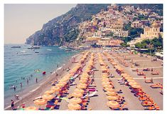 Positano by Gray Malin - would love to hang one of his photographs in my place!