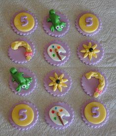 Lady Cupcakes Corner: Disney Tangled Birthday Party