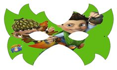 Tree Fu Tom: Free Printable Mask.