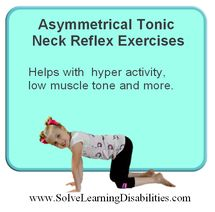 Asymmetrical Tonic Neck Reflex Exercises