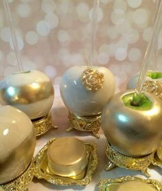 Glam candy apples