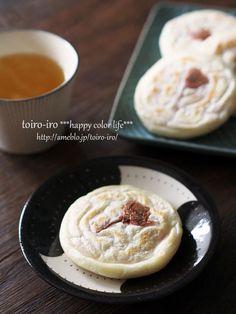 Japanese Rice Cake with Sakura Jam Filling 桜の焼き餅