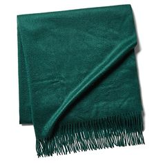 Cashmere Throw, Holly Green $199.00