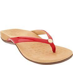 1bebb95b9219 Vionic Thong Sandals with Ring Detail - Elena