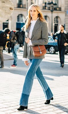 Would You Wear Your Jeans and Ankle Boots Like This? via @WhoWhatWear