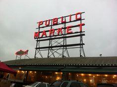 Pike Place Market - Dec. 20th, 2013