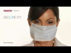 Cameron Advertising - Crosstex SecureFit Face Mask Demo