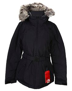 4c12ed27968 The North Face Women s Greenland Jacket CB13JK3 L. TNF Black. Fixed hood  with removable faux