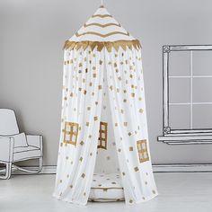 Gold Confetti Play Canopy