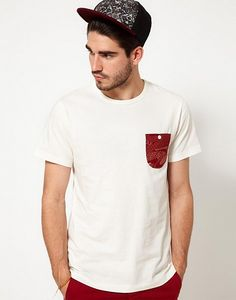 Penfield T-Shirt With Bandana Pocket