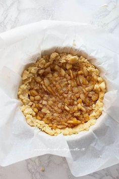 Riempire con le mele cotte -Ricetta Sbriciolata alle mele Apple Cake, Apple Recipes, Biscotti, Oatmeal, Cheesecake, Breakfast, Desserts, Food, Diet