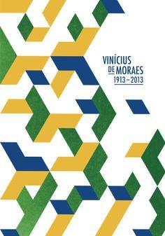 Manolo Guerrero, Tribute to Vinicius de Moraes. Bienal del Cartel Bolivia. BICeBe, 2013