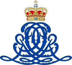Royal Monogram of King Christian IX of Denmark