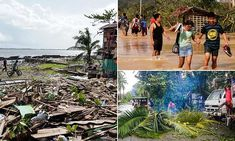 Typhoon Phanfone pummeled the central Philippines on Christmas Day, leaving six missing and bringing a wet, miserable and terrifying holiday to millions in the mainly Catholic nation. Iloilo City, Leyte, Banana Plants, Samar, Island Resort, Small Trees, Cebu, In The Heights, Men's Fitness Tips