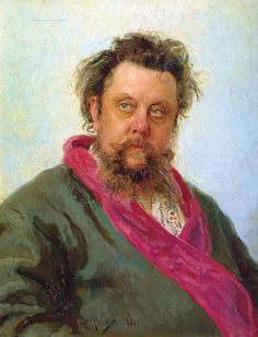 Modest Petrovich Mussorgsky (1839 – 1881) was a Russian composer. He was an innovator of Russian music in the romantic period. He strove to achieve a uniquely Russian musical identity, often in defiance of the established conventions of Western music. Many of his works were inspired by Russian history, Russian folklore, and other nationalist themes. Such works include the opera Boris Godunov, the orchestral tone poem Night on Bald Mountain, and the piano suite Pictures at an Exhibition.