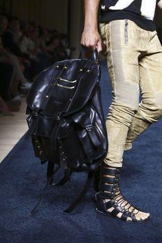 "money-in-veins: "" Balmain S/S 2016 Menswear // Paris (Details) """