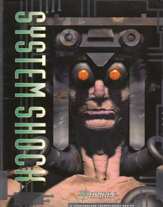 System Shock  DOS front cover  ( 1994 )