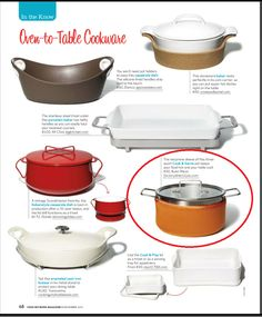 Food Network Magazine listed us as the place to buy the Kuhn Rikon Cook & Serve Pan.    Find them on our site here - http://www.factorydirect2you.com/kuhn-rikon-cook-and-serve.html