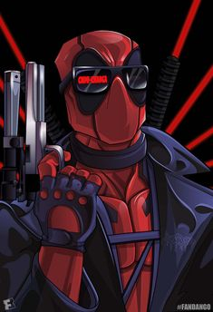 Terminator meets Deadpool by artist: Jesse Hernandez