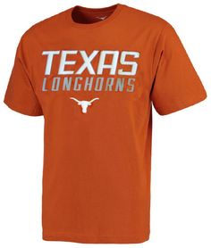 Texas Longhorns Synthetic Unstoppable Tx Orange Short Sleeve Shirt by 289c…