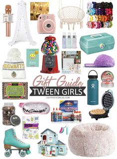 Gift ideas for teen boys, teen girls, tween boys and tween girls! This age can be hard to shop for and hopefully these guides will help you find the perfect gift for teens and tweens on your list! Some would make good stocking stuffers for teens too! Cool Gifts For Teens, Best Gifts For Girls, Tween Girl Gifts, Presents For Girls, Gifts For Tweens, Christmas Gifts For Teen Girls, Birthday Gifts For Teens, Holiday Gifts, Christmas Presents