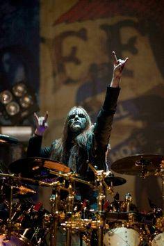 Joey formar drummer of slipknot Rap Metal, Rock Y Metal, Metal Fan, Metal Girl, System Of A Down, Heavy Metal Music, Heavy Metal Bands, Thrash Metal, Radiohead