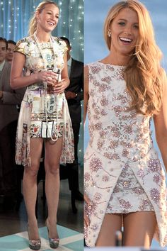 28 Times Blake Lively Dressed Like Serena van der Woodsen in Real Life Mode Gossip Girl, Estilo Gossip Girl, Gossip Girl Outfits, Gossip Girl Fashion, Look Fashion, Fashion Outfits, Gossip Girls, Blake Lively Dress, Blake Lively Style