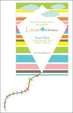 KITE Birthday Party Kite Party Printables by wanessacarolina, $45.00