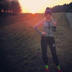 Ellie Goulding, a motivator to go running #justdoit #nikerunning