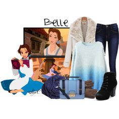 Belle - Winter - Disney's Beauty and the Beast
