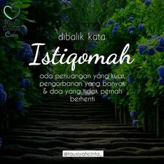 Istiqomah . . Follow @hijrahcinta_ Follow @hijrahcinta_. . . http://ift.tt/2f12zSN