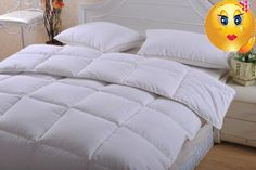 #duvets Cover yourself with something really soft and comfortable... This #down alternative comforter is covered with an ultra-soft microfiber fabric, 230 thread...