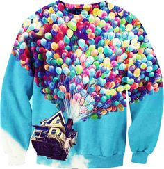 MUST HAVE - We love this, love, love, love <3High quality printed sweatshirt!It can be the way to express Yourself or just shine among the crowd - or both !