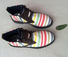 #handmade #Marapulai #Shoes Tigo Stripes by MarapulaiClothing on Etsy