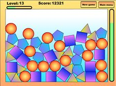 Play #TheInfinitePuzzle. Try to score as many points by removing the same objects.