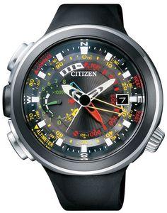 Citizen Promaster Eco-Drive Altichron Cirrus Titanium DLC Japan Watch BN4035-08E #Citizen #Sports