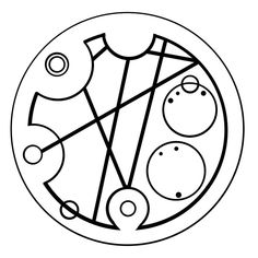 """Hello sweetie"" in circular Gallifreyan"