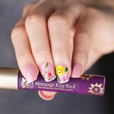 Impress Gel Manicure S So Stellar Fl Waterless Tattoos Super Luscious Maracuja Kiss Stick