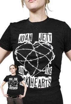 joan jett merchandise   Joan Jett & the Blackhearts Barb Wire T-Shirt Profile Photo