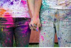 Check out this AMAZING engagement photo set that I found a few months ago via Davison Davison Bailey ! Color Photography, Couple Photography, Engagement Photography, Engagement Pictures, Engagement Shoots, Holi Pictures, Color Fight, Save The Date Pictures, Wedding Ideias