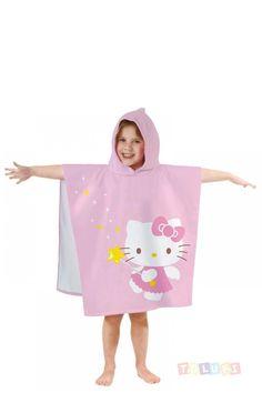 Filles Paw Patrol Novelty Dress up Poncho Enfants À Capuche Serviette de plage d/'été bain