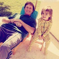Grandpa Bruce and Mason are chillin' in California!