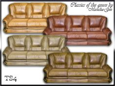 "Set ""Classics of the genre"".  The composition of the set: sofa, love seat, living chair - eight colors.  A set of upholstered furniture ""Classics of the genre.""  The composition of the set: sofa, sofa for two seats, armchair - all eight colors.  DOWNLOAD"
