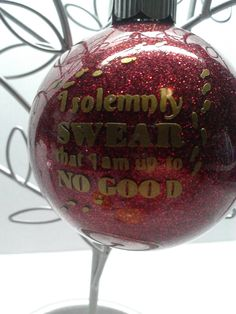 Harry Potter Christmas ornament personalizable by DesignsByDoty, $5.99