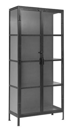 ☎+90 216 412 25 54 📱+90 552 232 56 58 Glass Panel Door, Glass Cabinet Doors, Glass Doors, Black Display Cabinet, Tall Cabinet Storage, Display Cabinets, Iron Console Table, Black Leather Sofas, Black Cabinets
