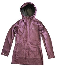 51e58f54 COLUMBIA WOMENS Shine Struck II Waterproof RAIN Mid Hooded JACKET #Coats,  Jackets &