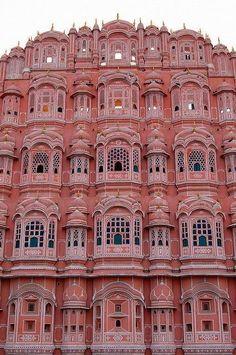 Hawa Mahal, Jaipur, India (Palace of the Winds)