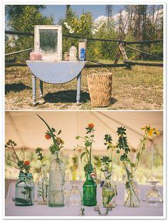 Double A Barn Wedding by Jessica Christie Photography on BorrowedandBleu.com